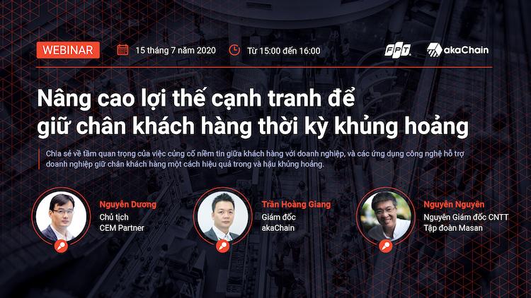 Hội thảo trực tuyến của FPT diễn ra vào ngày 15/7.
