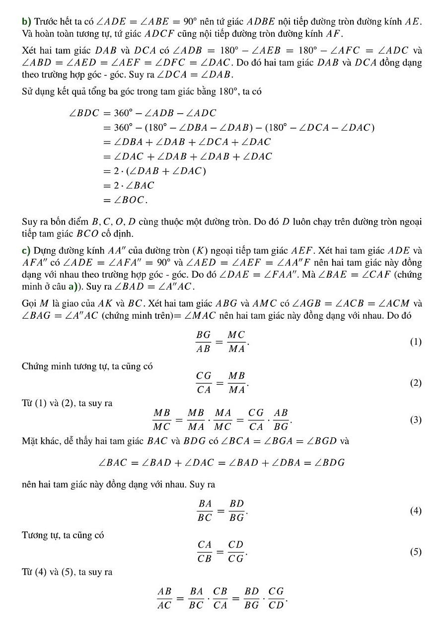 Giải đề Toán chuyên vào Phổ thông Năng khiếu - 6