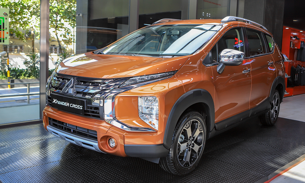 Mitsubishi Xpander Cross - SUV kết hợp MPV. Ảnh: Lương Dũng