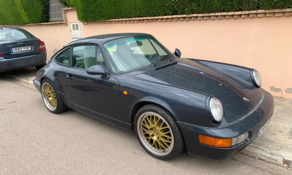 Chiếc Porsche bị lấy trộm được tìm thấy nguyên vẹn trong vòng một ngày. Ảnh:
