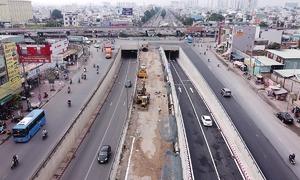 Nút giao 3 tầng cửa ngõ Tây Bắc Sài Gòn hoàn thiện