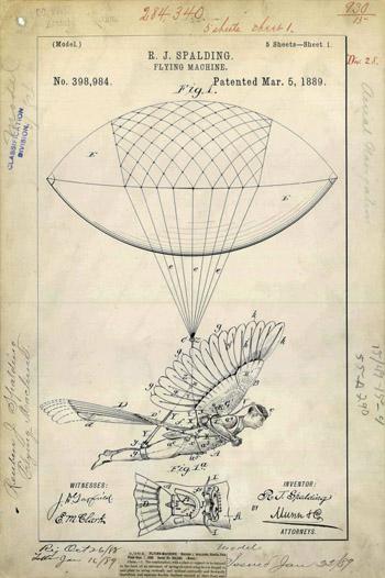 Thiết bị bay cá nhân năm 1889.