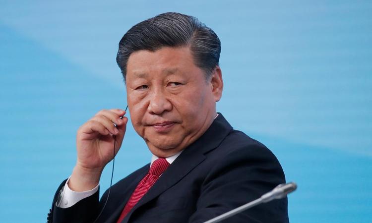 Chủ tịch Trung Quốc Tập Cận Bình tại Nga hồi tháng 6/2019. Ảnh: Reuters.