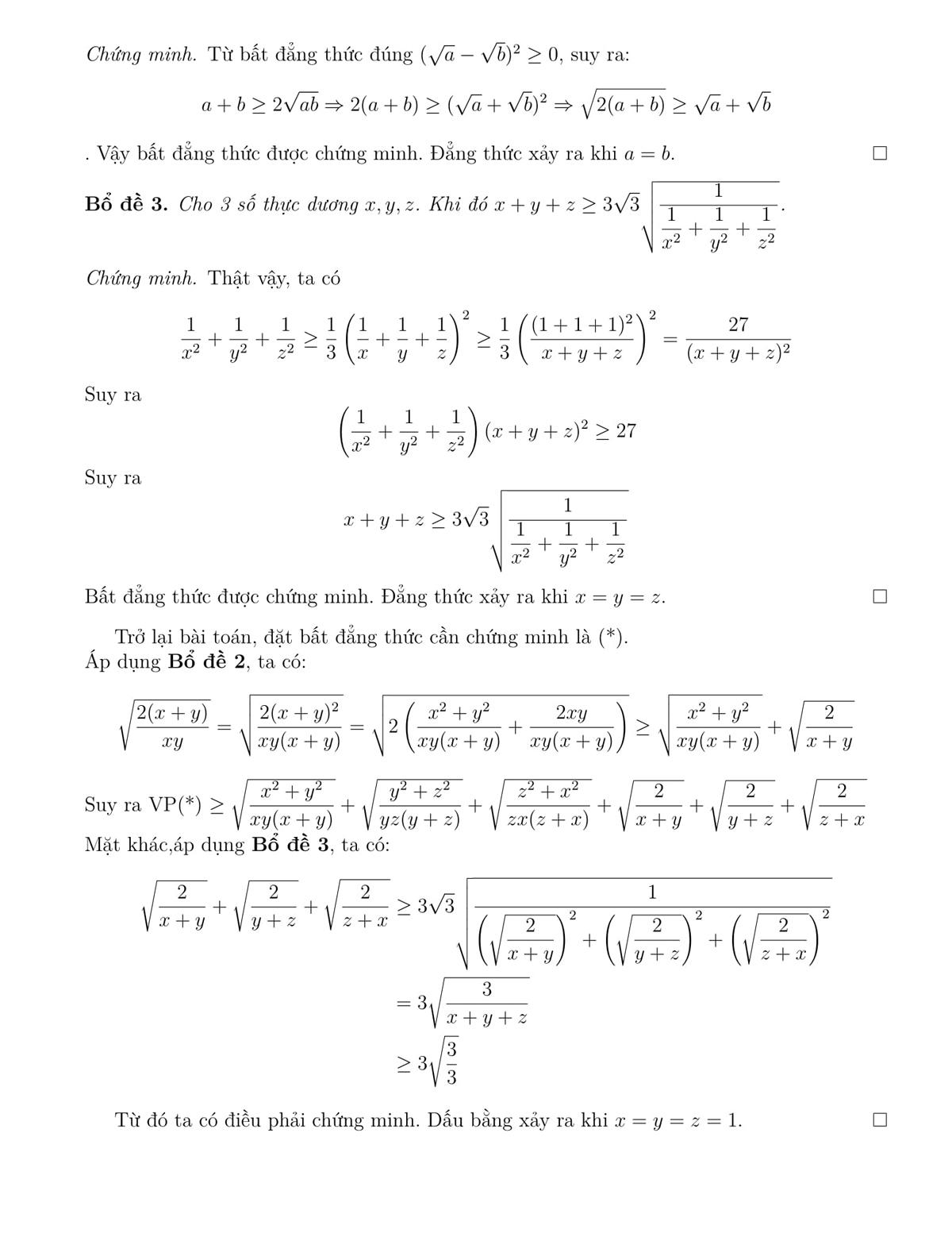 Lời giải đề Toán chuyên vào lớp 10 ở Đà Nẵng - 6