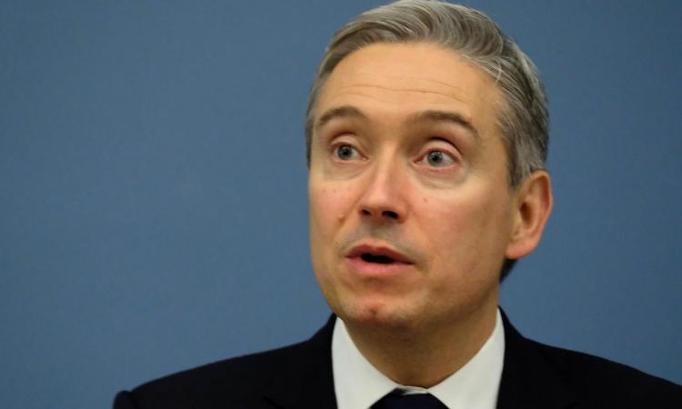 Ngoại trưởng Canada Francois-Philippe Champagne tại cuộc họp ở Latvia hôm 2/3. Ảnh: Reuters.