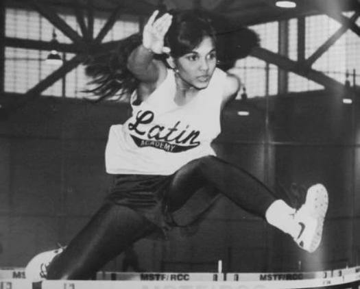 Từ những ngày trong đội chạy ở trường cấp III, Annie Dookhan đã không ngừng theo đuổi danh vọng. Ảnh: Boston Globe.
