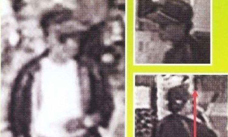 Hình ảnh nghi phạm trong vụ mất tích của Yukari Yokoyama năm 1996. Ảnh: SCMP.