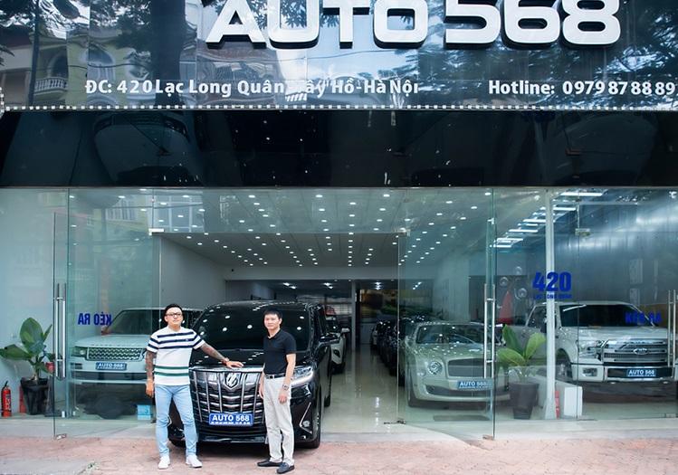 Tuấn Hưng mua Toyota Alphard - 4