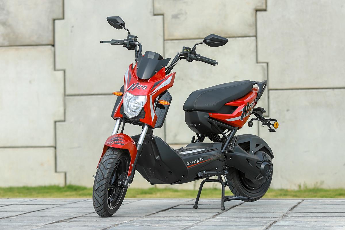 Xmen Neo, xe máy điện mới ra mắt Việt Nam. Ảnh: Lương Dũng