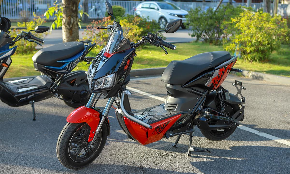 Yadea X5, xe máy điện mới lộ diện trong ngày ra mắt Xmen Neo. Ảnh: Lương Dũng