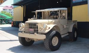 Bỏ 500 triệu phục dựng xe quân sự