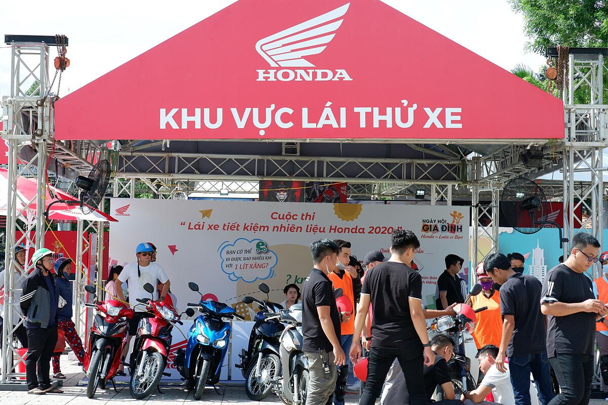 Một số hình ảnh trong Ngày hội gia đình 2020 của Honda Việt Nam