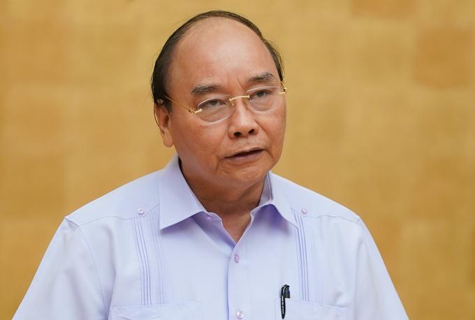 Thủ tướng Nguyễn Xuân Phúc. Ảnh:VGP
