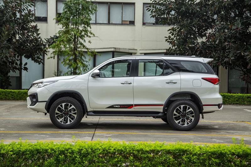 Fortuner bản lắp ráp ra mắt tháng 6/2019. Ảnh: Toyota