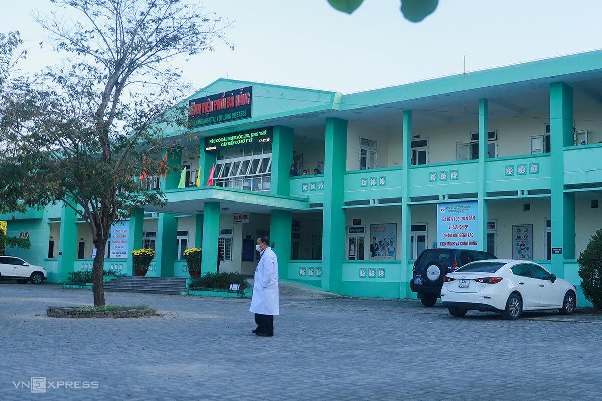 Bệnh viện Phổi Đà Nẵng sẽ là nơi tiếp nhận điều trị các bệnh nhân mắc Covid-19 ở Đà Nẵng. Ảnh: Nguyễn Đông.
