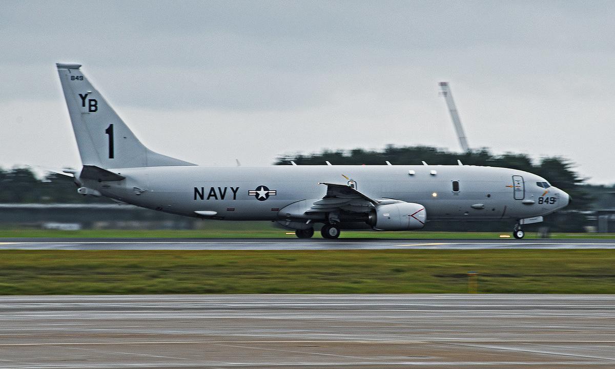 Trinh sát cơ P-8A Mỹ cất cánh tại Nhật Bản hôm 15/7. Ảnh: US Navy.