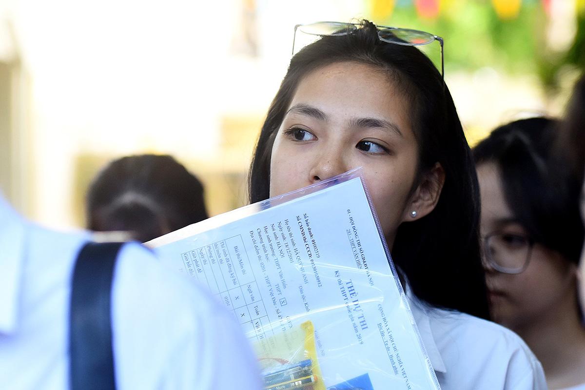 Thí sinh dự thi THPT quốc gia năm 2019. Ảnh: Thành Nguyễn.