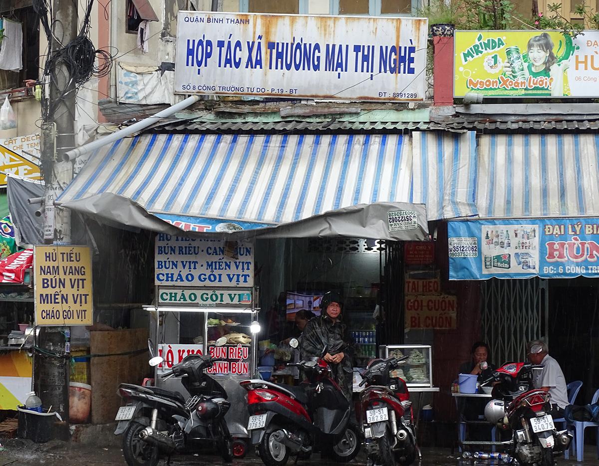 Trụ sở HTX Thương mại Thị Nghè ở số 8 Công trường Tự Do, quận Bình Thạnh. Ảnh: Hà An.