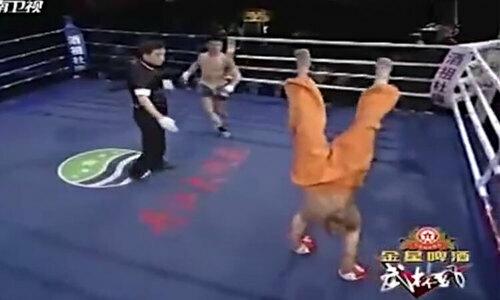 Võ sư Thiếu Lâm thành trò cười khi biểu diễn Nhất Dương Chỉ - 1