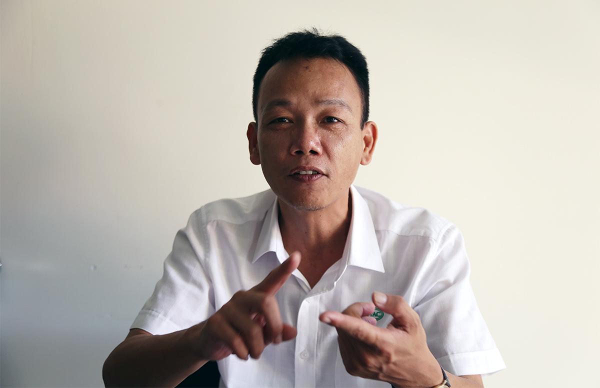 Tiến sĩ Dương Hữu Thái, Viện trưởng viện IVAC kỳ vọng vaccine Covid-19 thành công. Ảnh: Xuân Ngọc.