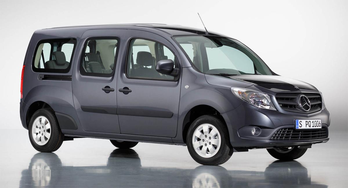 Xe van chở hàng Citan thế hệ hiện nay. Ảnh: Mercedes