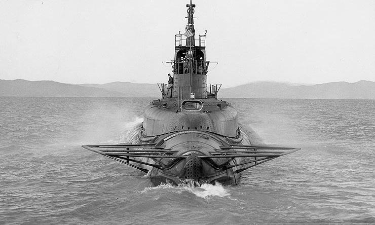 Tàu ngầm USS Tullibee bị đánh chìm bởi chính ngư lôi của mình năm 1944. Ảnh: US Navy.