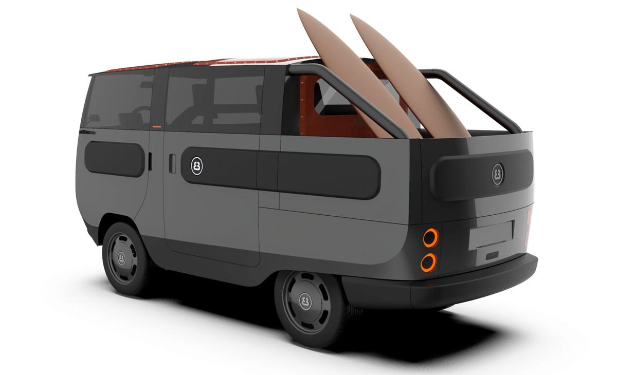 Có tổng cộng 10 biến thể thân xe khác nhau của eBussy. Ảnh: Electric Brands