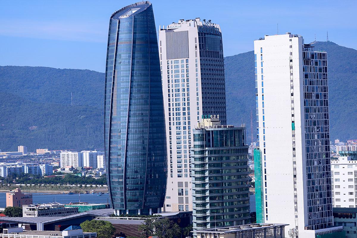 Trung tâm hành chính Đà Nẵng. Ảnh: Nguyễn Đông