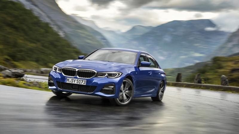 Series 3, mẫu xe ăn khách nhất phân khúc hạng sang tại Đức. Ảnh: BMW