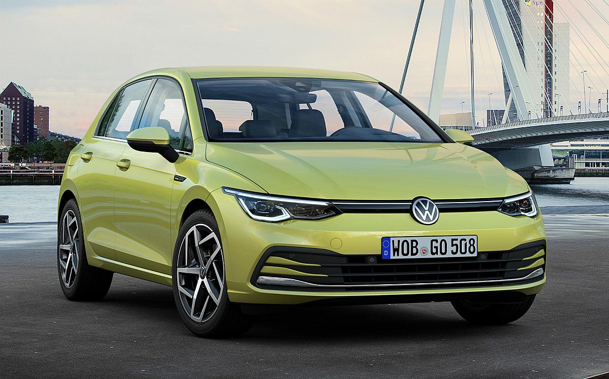 VW Golf 2020, mẫu xe bán chạy nhất tại Đức. Ảnh: VW
