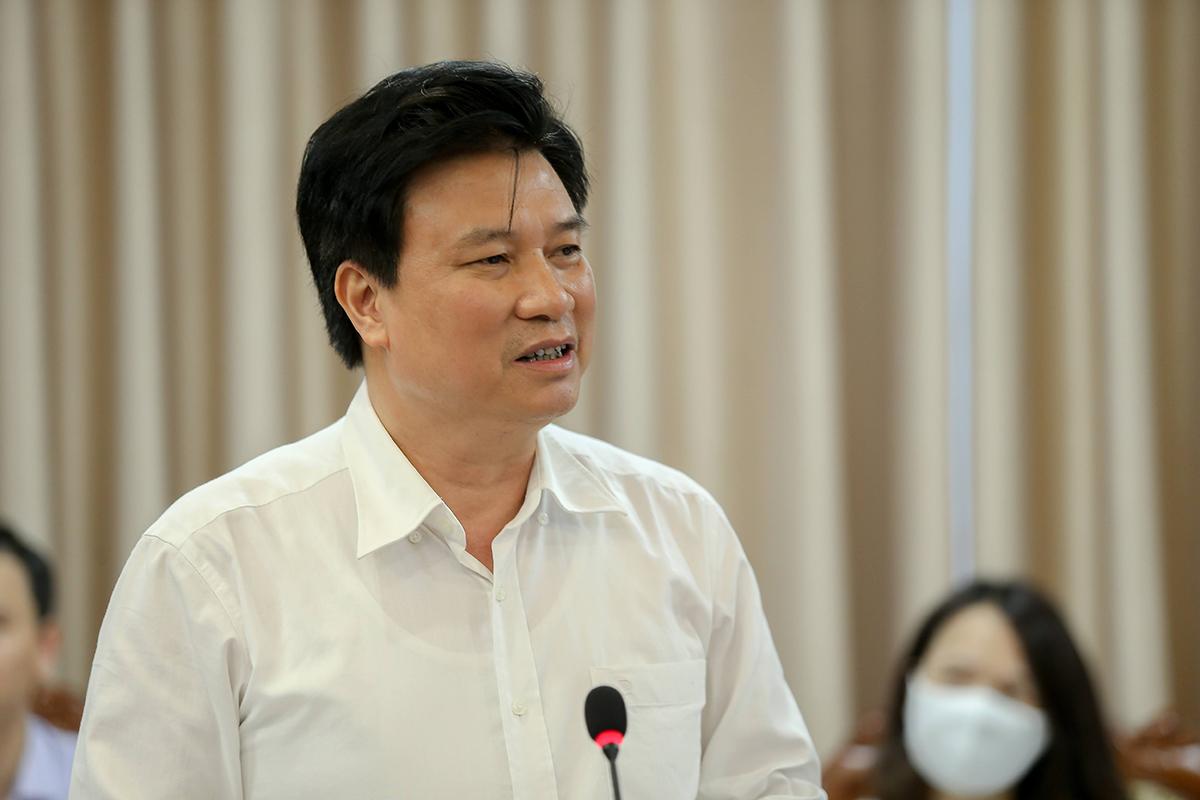 Thứ trưởng Nguyễn Hữu Độ phát biểu tại cuộc họp. Ảnh: MOET.