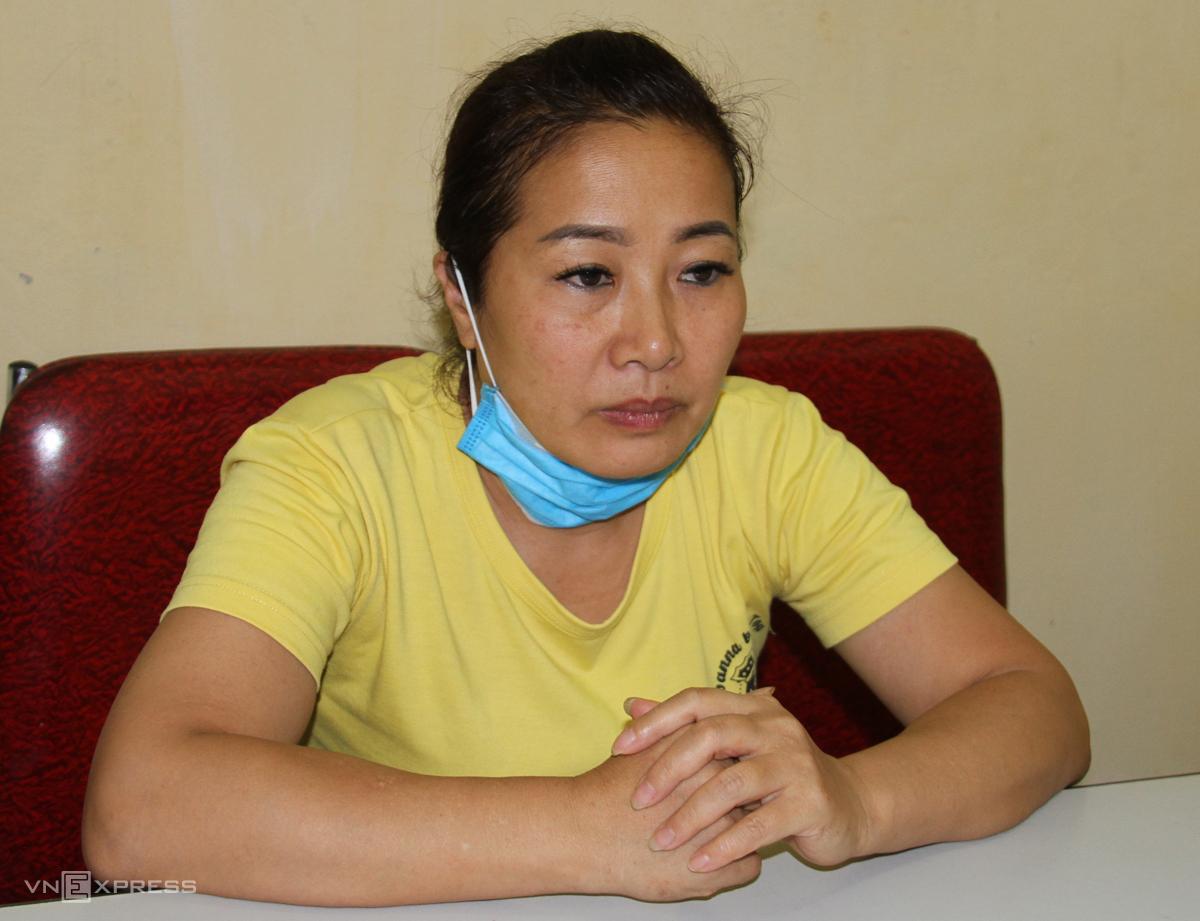 Nguyễn Thị Thanh Nhàn, chủ mưu tại cơ quan công an. Ảnh: Thanh Tuấn