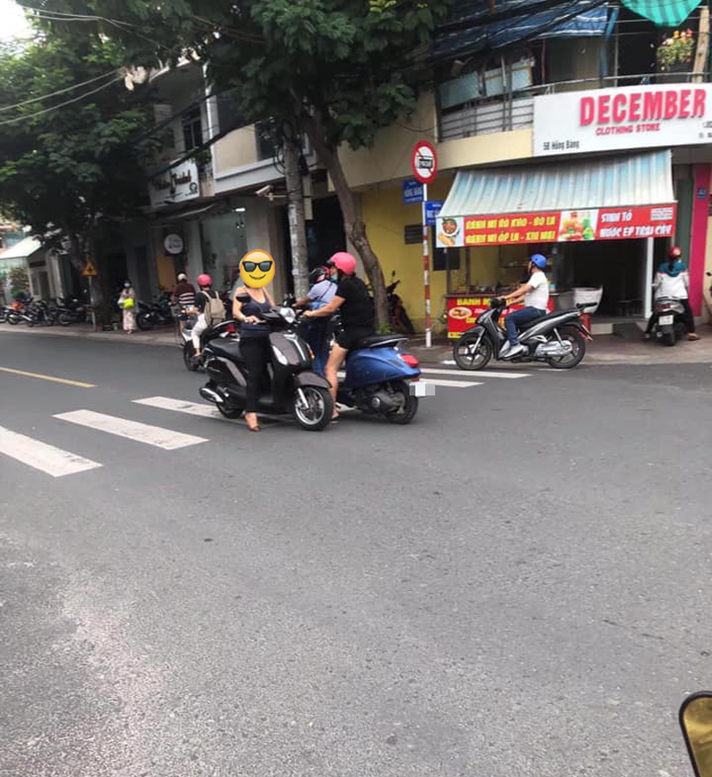 Được biết hình ảnh trên được chụp lại trên đường Hồng Bàng, TP. Nha Trang.