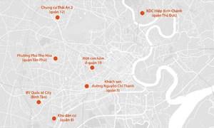 Nhiều nơi ở Sài Gòn bị cách ly do Covid-19