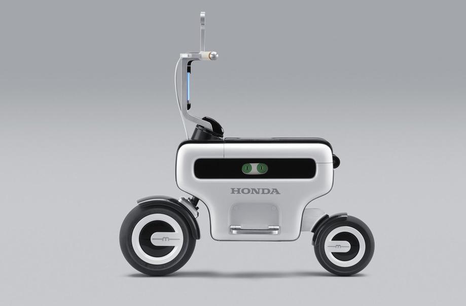 Scooter điện Motocompo concept ra mắt năm 2011. Ảnh: Honda