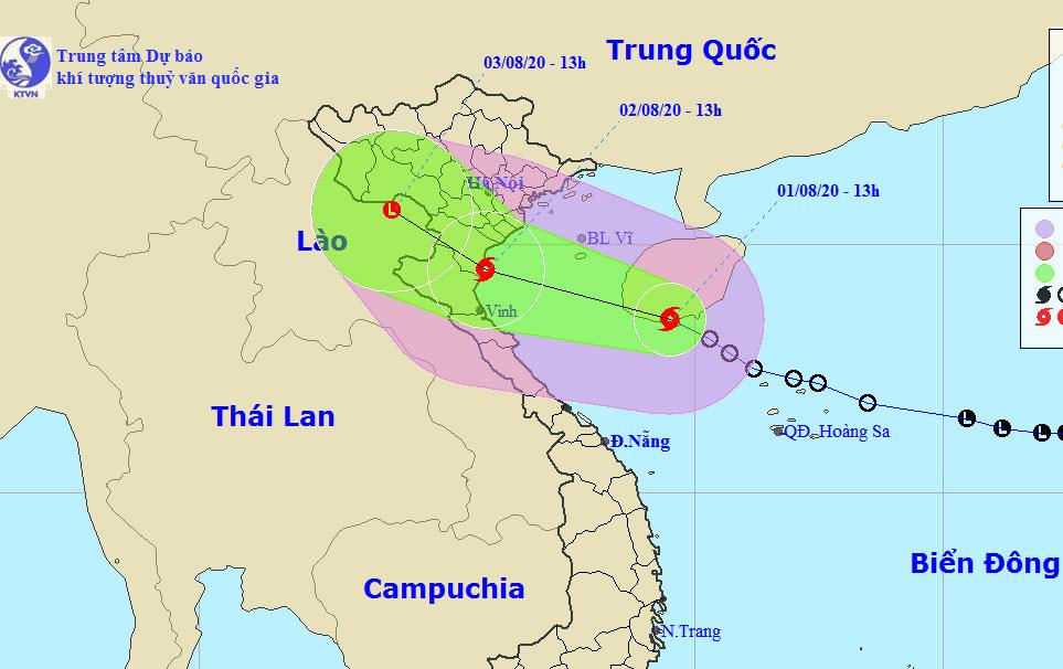 Áp thấp nhiệt đới mạnh lên thành bão - VnExpress