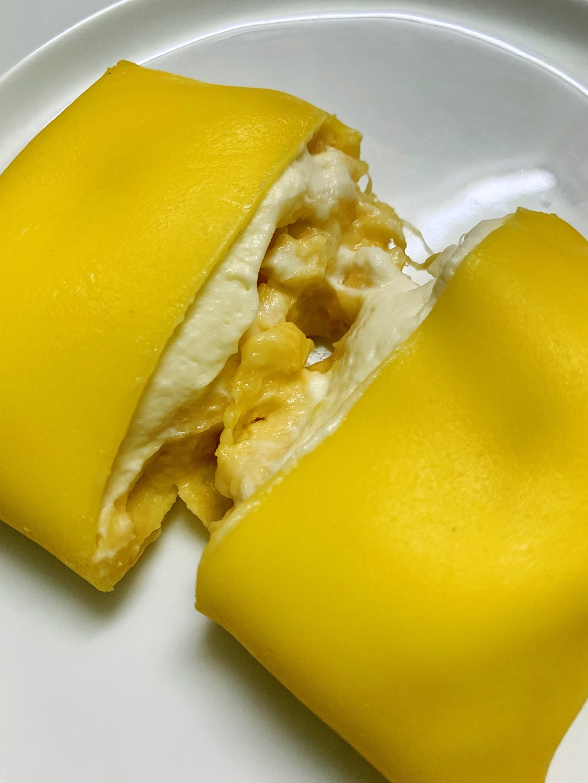 Crepe sầu riêng - món tráng miệng mùa hè