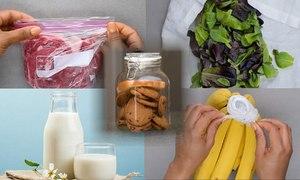 5 mẹo bảo quản thực phẩm trong nhà bếp