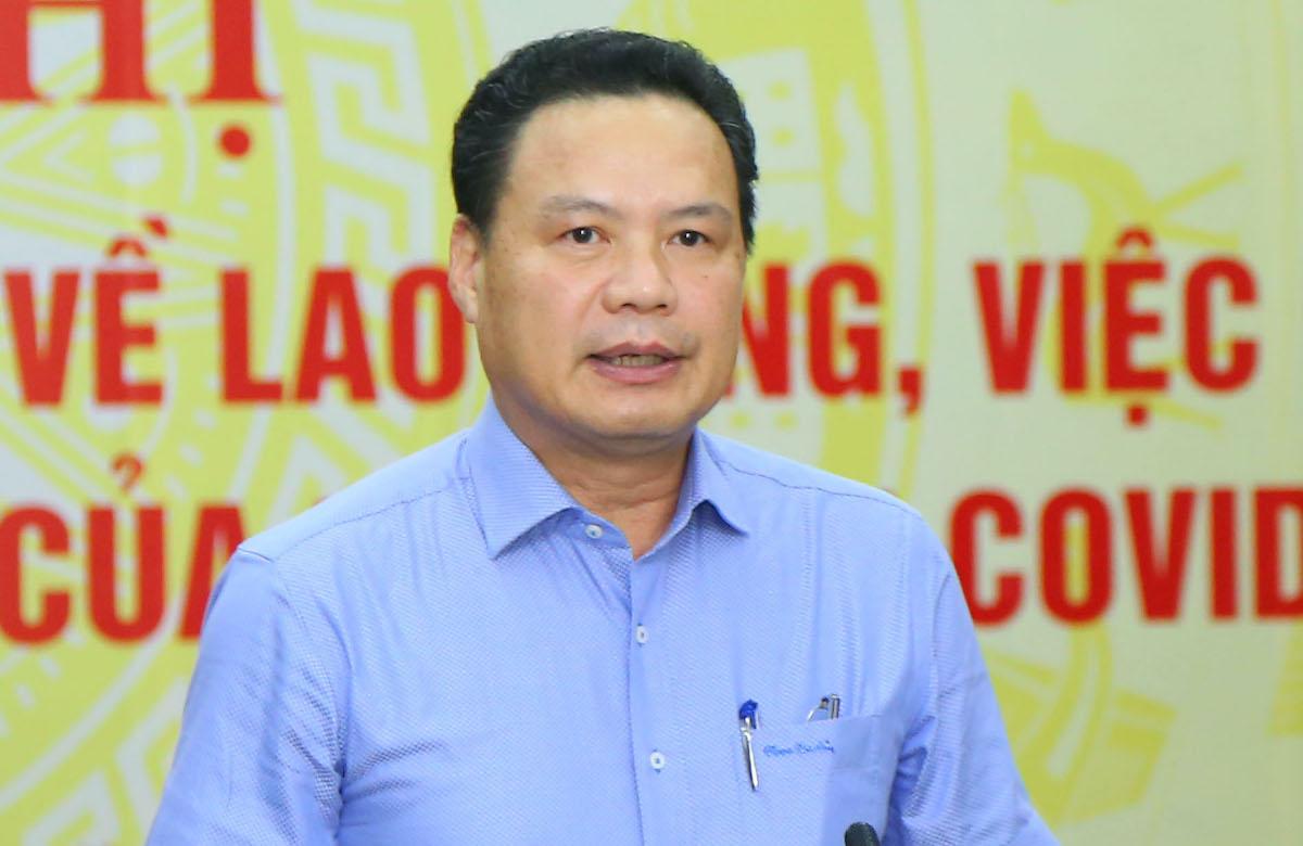 Thứ trưởng Lao động Thương binh Xã hội Lê Văn Thanh. Ảnh: T.V.G