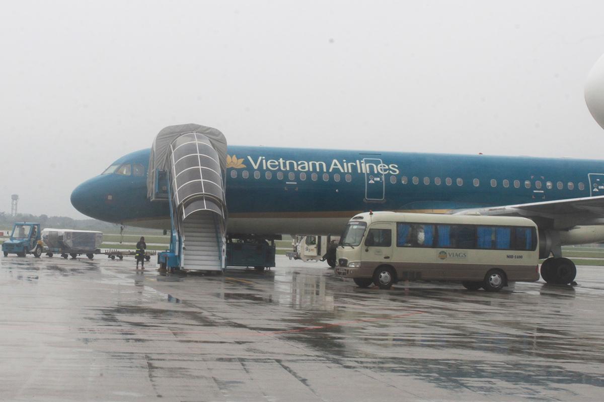 Khu vực Hà Nội đã có mưa to ngày 2/8. Ảnh: Anh Duy.