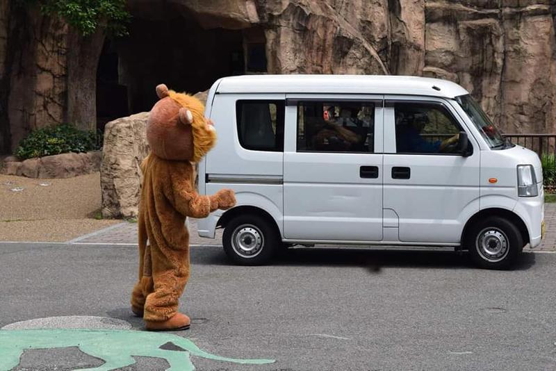 Sư tử thật xem sư tử giả sổng chuồng