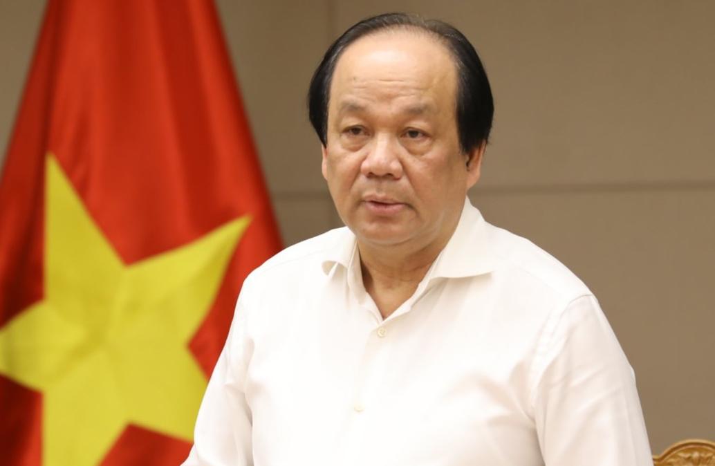 Bộ trưởng, Chủ nhiệm Văn phòng Chính phủ Mai Tiến Dũng. Ảnh: VGP
