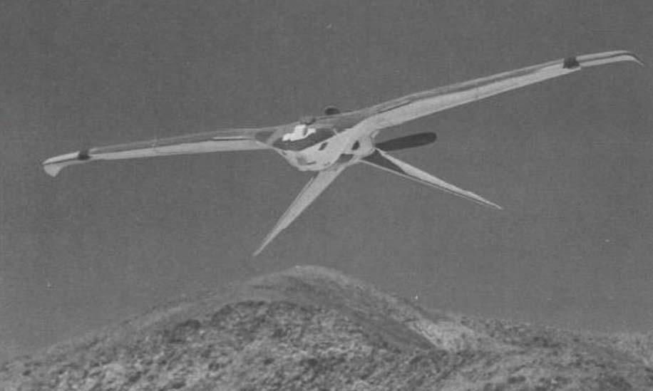 Máy bay do thám chiến lược Chim ưng mà CIA từng phát triển. Ảnh: CIA.