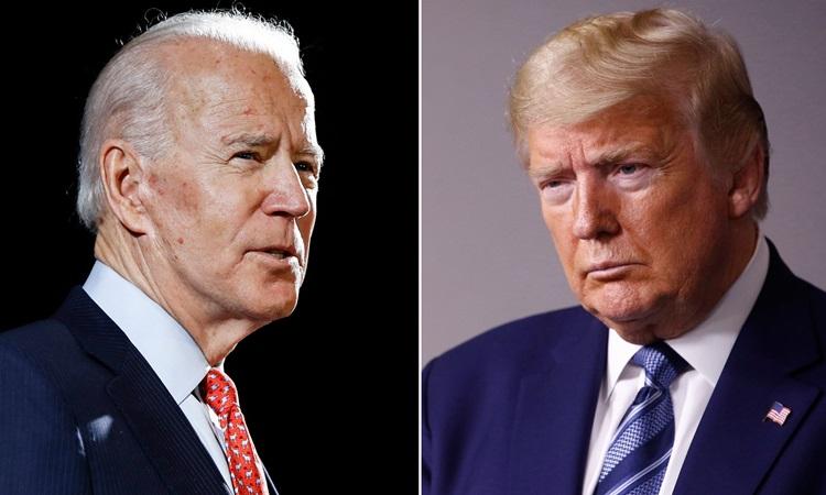 Trump và Biden cạnh tranh sít sao ở bang chiến trường - VnExpress