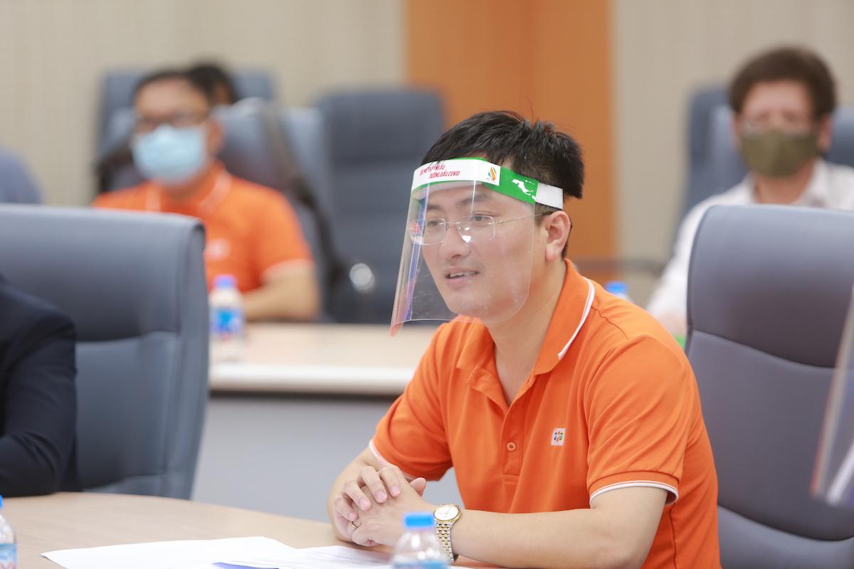 Ông Nguyễn Xuân Việt, Giám đốc công nghệ FPT IS.