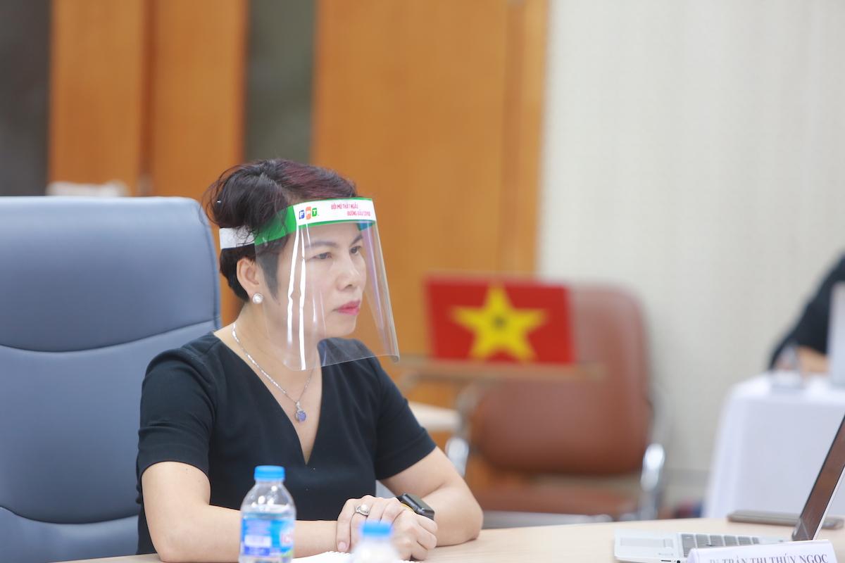 Bà Trần Thị Thuý Ngọc. Ảnh: Cao Tuấn