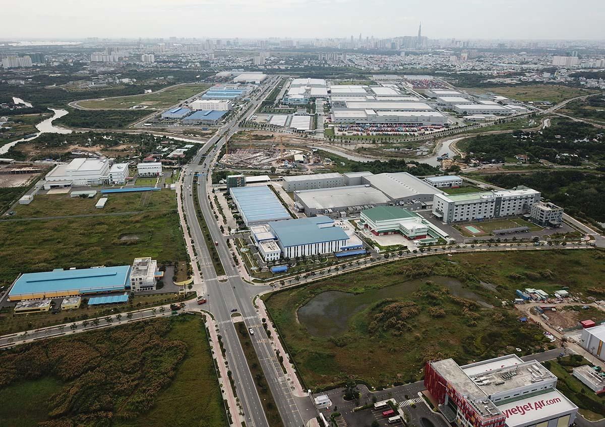 Khu công nghệ cao ở quận 9 sẽ là nơi ươm mầm, ứng dụng không học công nghệ cho Thành phố phía Đông và Khu đô thị sáng tạo, tương tác cao phía Đông. Ảnh: Quỳnh Trần.