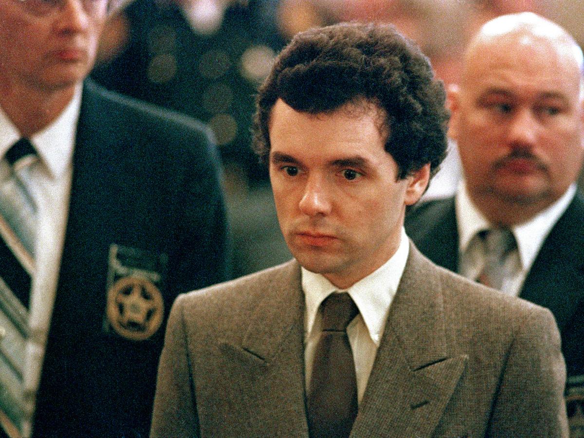 Donald Harvey tại tòa vào năm 1987. Ảnh: AP.