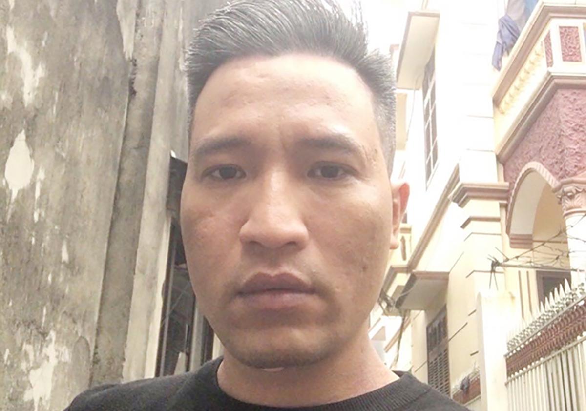 Nguyễn Văn Trung bỏ trốn ngay trước phiên xét xử. Ảnh: Công an cung cấp