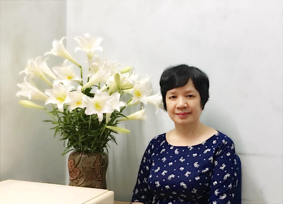 Tiến sĩ Trịnh Thu Tuyết, giáo viên môn Ngữ Văn tại Hệ thống Giáo dục HOCMAI